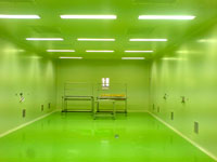 Modular Clean room with HVAC systems