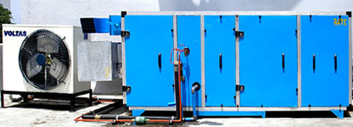 Air Conditioning With Temperature And Rh Control